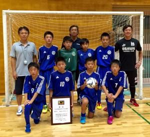 準優勝:町田小川FCレッド