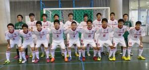 準優勝:FOOTBOZE FUTSAL U-18