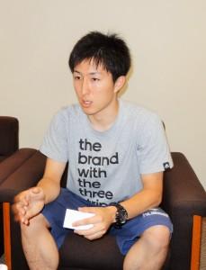 川口選手1