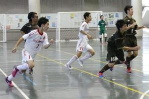 対 府中アスレティックFC U-18戦での南雲選手