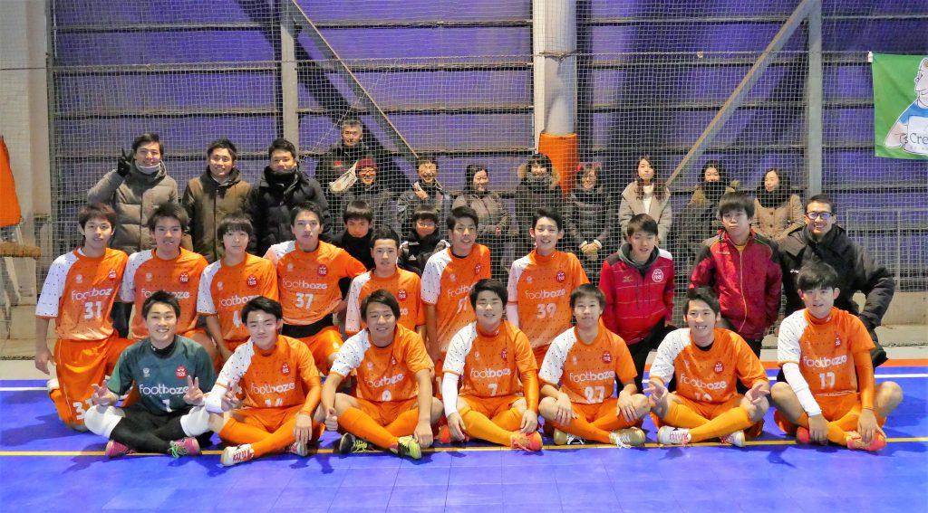 優勝『FOOTBOZE FUTSAL U-18』