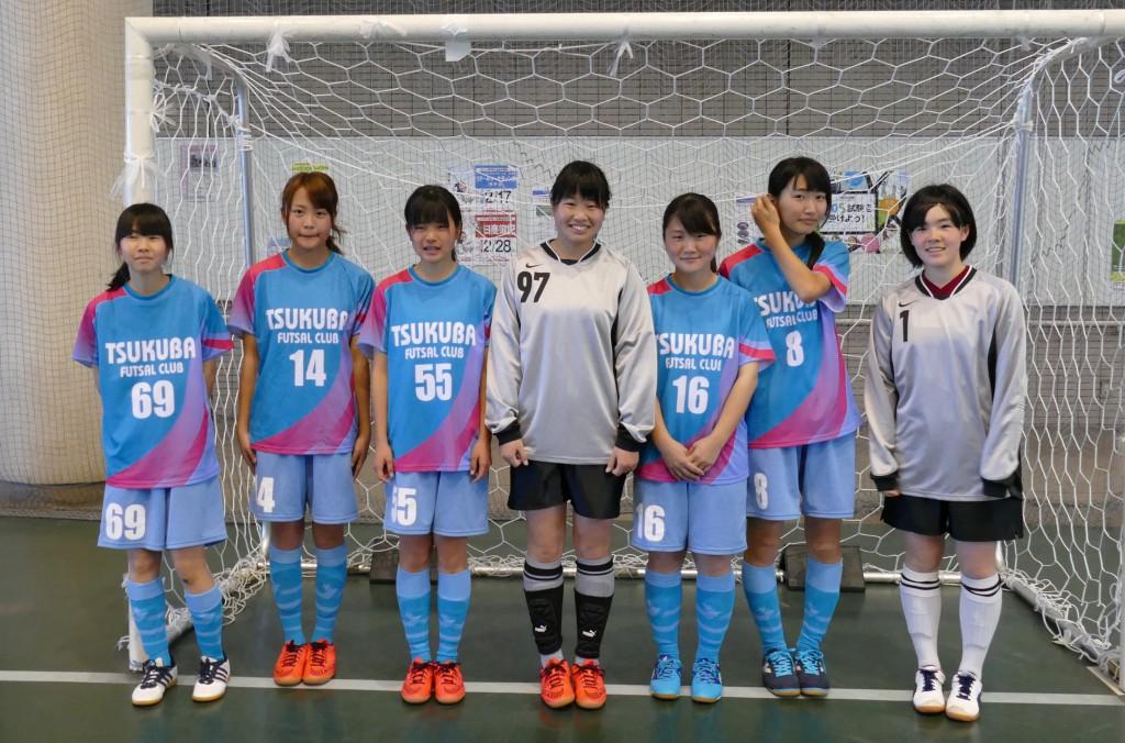 第3位:筑波大学附属高等学校女子蹴球部