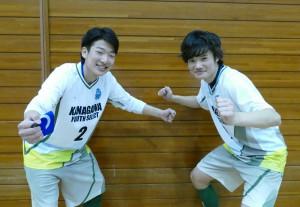 藤村選手、安藤選手
