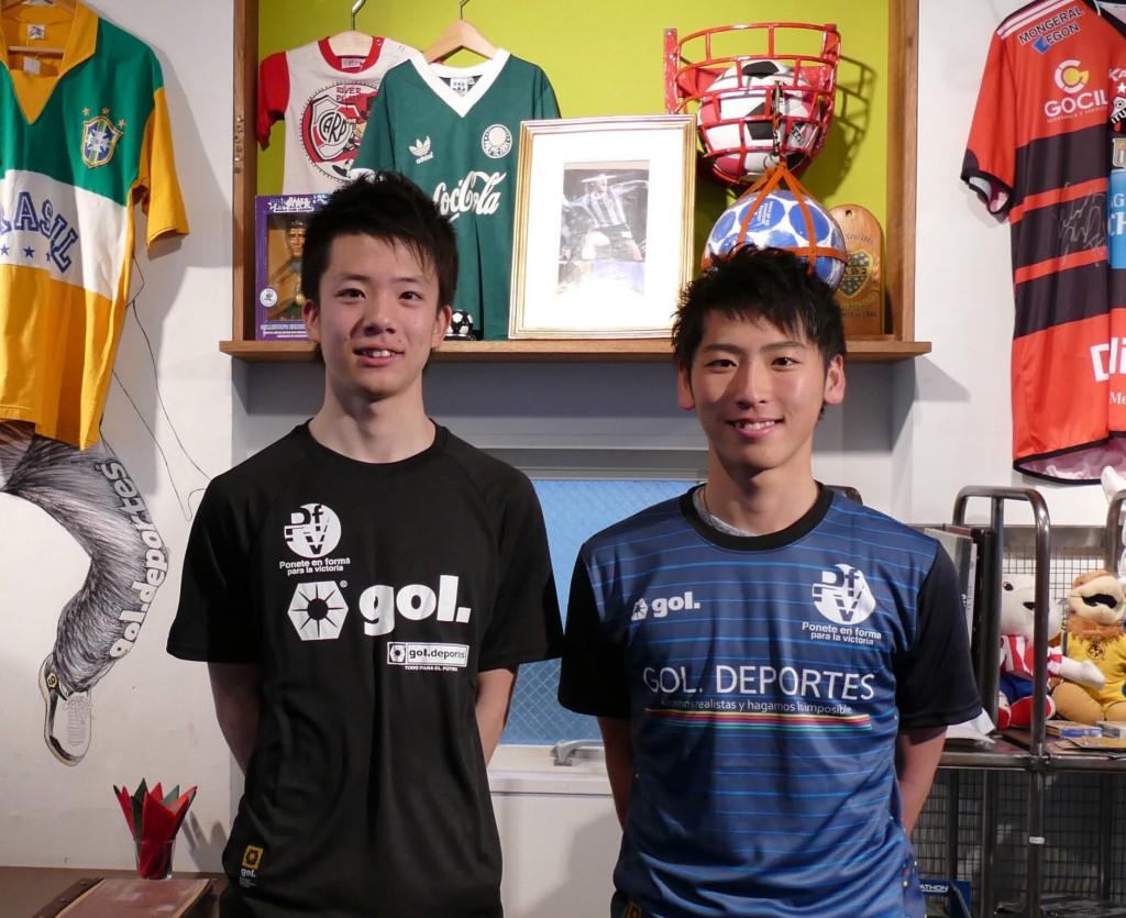 準グランプリ・松谷健介くん(左)グランプリ・菊池慧くん(右)