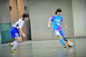 筑波大学附属高校女子蹴球部 西谷明理選手